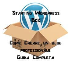 creare blog WordPress professionale