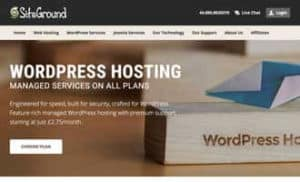 Installazione WordPress su hosting SiteGround
