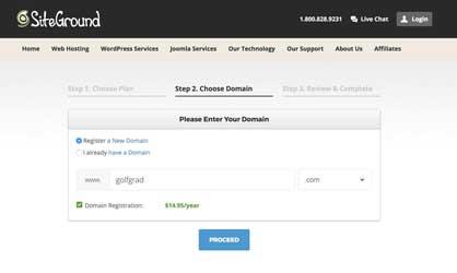 Acquisto nome del dominio - Installazione WordPress