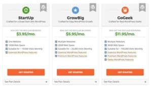 Hosting SiteGround Plans - Installazione WordPress