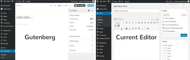 Editor WordPress Gutenberg