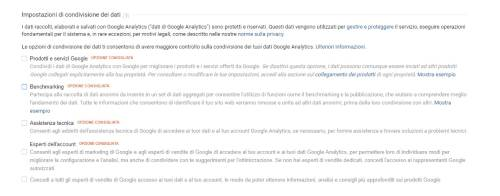 GDPR e Google Analytics