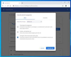 502 Bad Gateway Error - cancellare cache browser