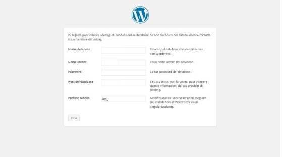 Installare WordPress su server Windows. Installazione WordPress