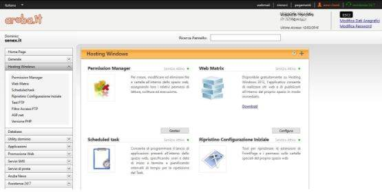 Installare WordPress su server Windows