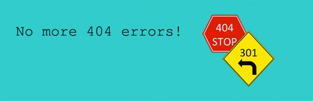 Pagina errore 404 Not Found 400 to 301 plugin for WordPress