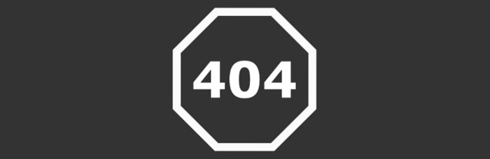 Pagina errore 404 Not Found Plugin 404Page