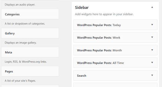 mostrare i post più popolari in WordPress