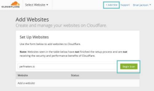 Installare CloudFlare su WordPress Guida