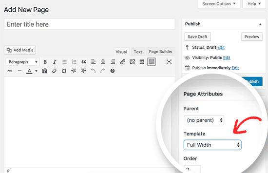 Rimuovere Sidebar in WordPress da singola pagina