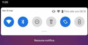 Aggiornamento Android Q