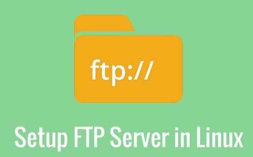 Installare Server FTP in Ubuntu