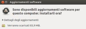 Aggiornamento Ubuntu 19.04 Disco Dingo