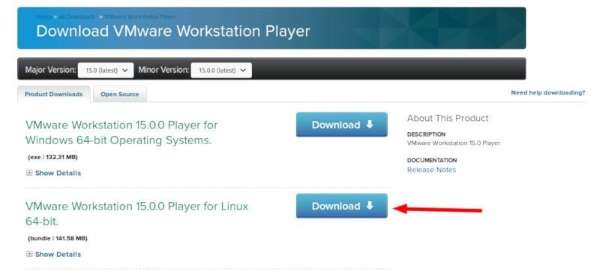 Installare vmware workstation su ubuntu download
