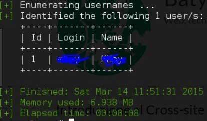 Come utilizzare WPScan - Enumerazione Utenti