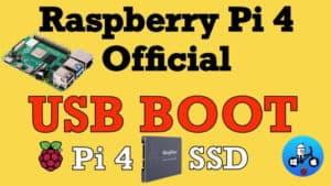 Boot USB su Raspberry Pi 4