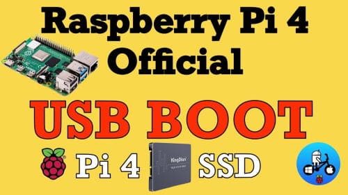 Boot USB su Raspberry Pi 4