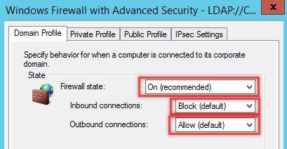 Configurare regola Firewall in Windows - Attivazione