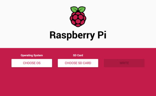 Raspberry Pi Imager - Interfaccia Grafica
