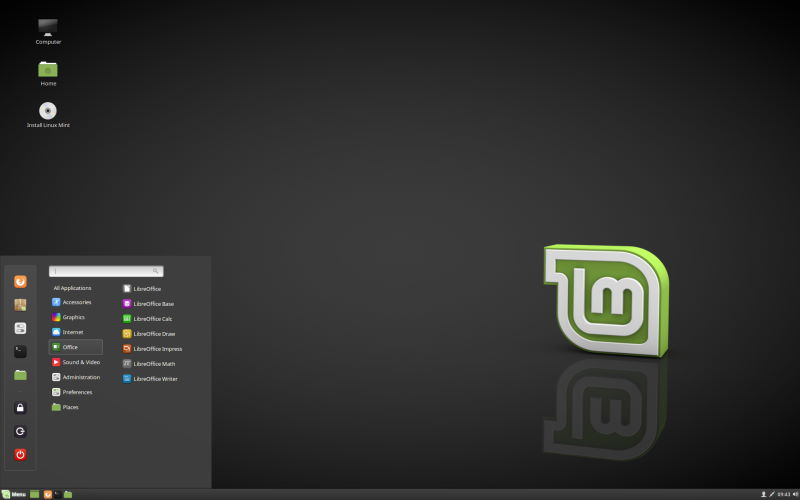 Installare Linux Mint - Session Live