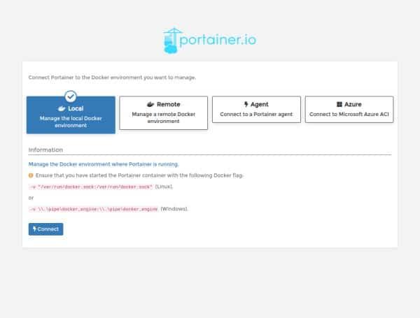 Installare Docker su Raspberry - Collegamenti nodi locali