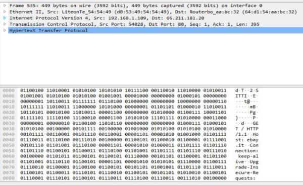 Utilizzare Wireshark: analisi pacchetti di rete 7