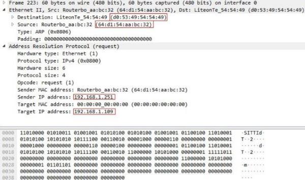 Utilizzare Wireshark: analisi pacchetti di rete Protocollo ARP