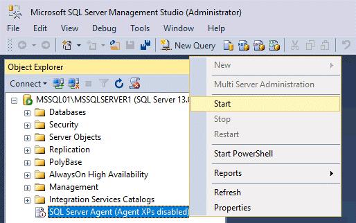 Replication in Sql Server - Sql Server Agent