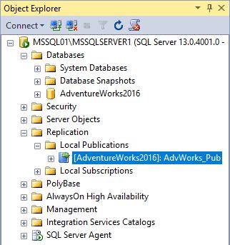 Replication in Sql Server - Configurazione Pubblicazione 6 Passaggio