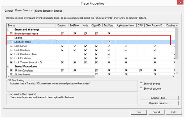 Deadlock in Sql Server - Utilizzo di Sql Profiler