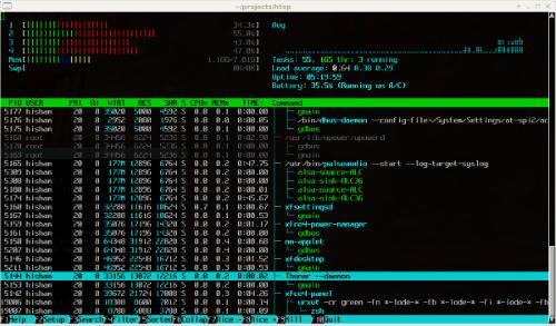 Velocizzare Ubuntu -  Monitoraggio risorse con Htop