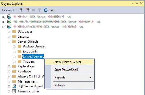 Sql Server e MySql - Creare linked server