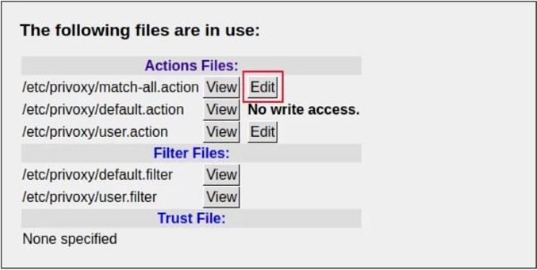 Proxy Server con Raspberry - Configurazione Avanzata