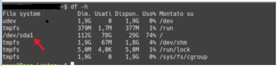 Verificare prestazioni SSD - Comando Smartctl